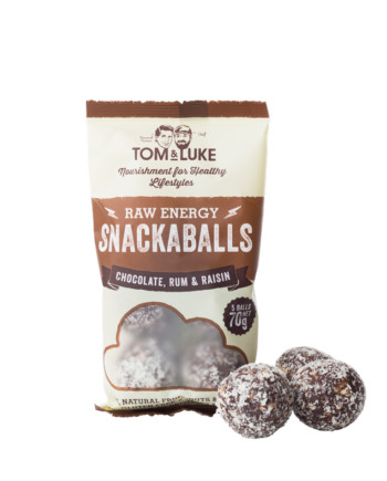 Snackaballs Chocolate, Rum & Rasin