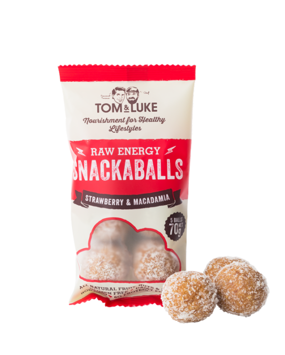 Snackaballs Strawberry & Macadamia