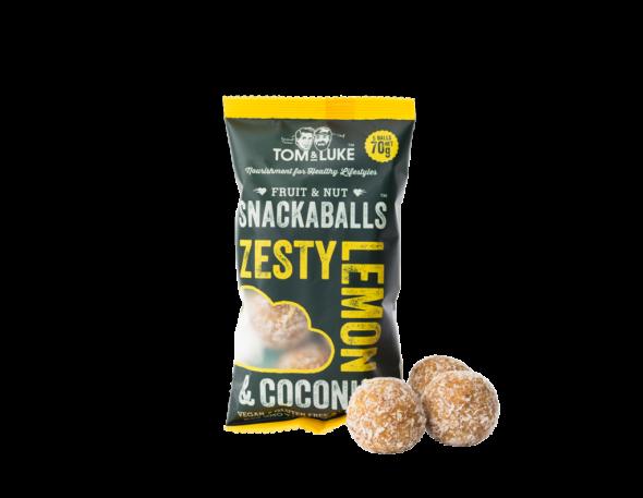 Lemon & Coconut Snackaballs