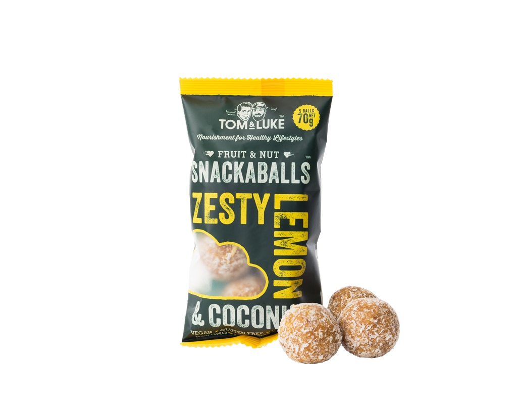 Lemon & Coconut Snackaballs