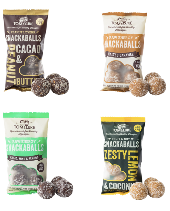 Mixed Box of Snackaballs Four Best-selling Flavours